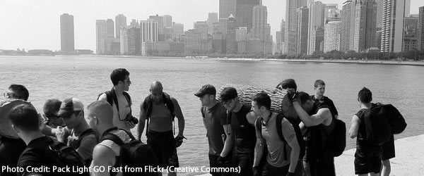 GoRuck Challenge - Promoting a Bag or Building a Team?